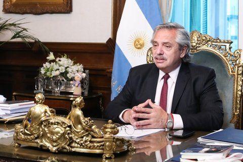 Alberto Fernández planteó como desafío para el año que se inicia mantener la unidad y seguir en el camino de la reconstrucción.