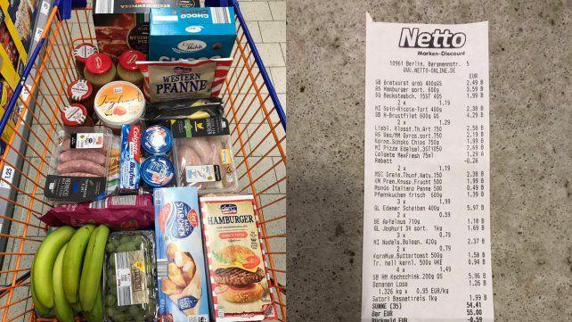 Un abogado argentino trabaja de delivery en Berlín y armó un revuelo por los precios del súper