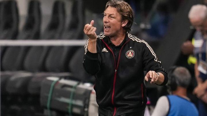Enérgico. Heinze tuvo un paso fugaz como técnico del Atlanta United, de la Major League Soccer.