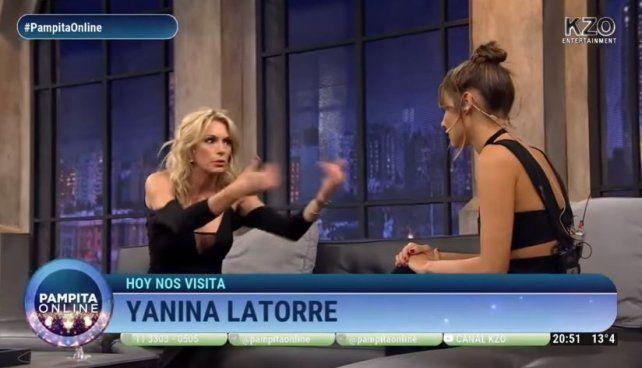 ¿Vos me odiabas?, preguntó Pampita a Yanina Latorre que admitió que le gusta ser la mala