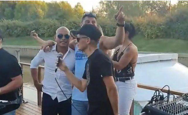 Desarticulan una fiesta clandestina en Nordelta en la que participaba Clemente Rodríguez