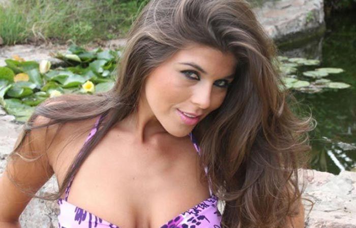 Mariana Antoniale se negó a hablar sobre su presente amoroso.