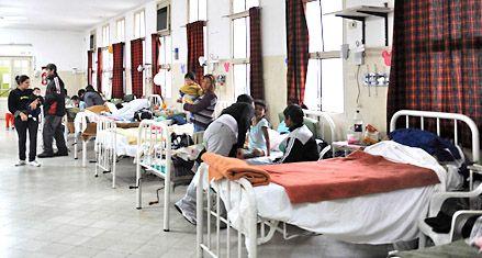 Las empresas de emergencias piden camas para usar la ambulancia