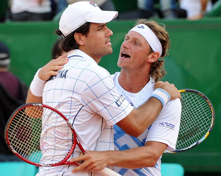 Copa Davis: Argentina consiguió ganar el dobles y está 2 a 1 ante Croacia