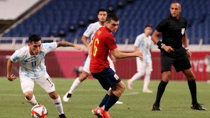Tokio 2020: el seleccionado argentino de fútbol ya juega ante España en Saitama