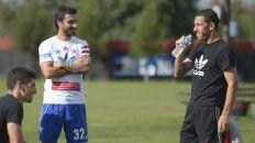 Nacho Scocco y Maxi Rodríguez entrenaron con su propia ropa deportiva.