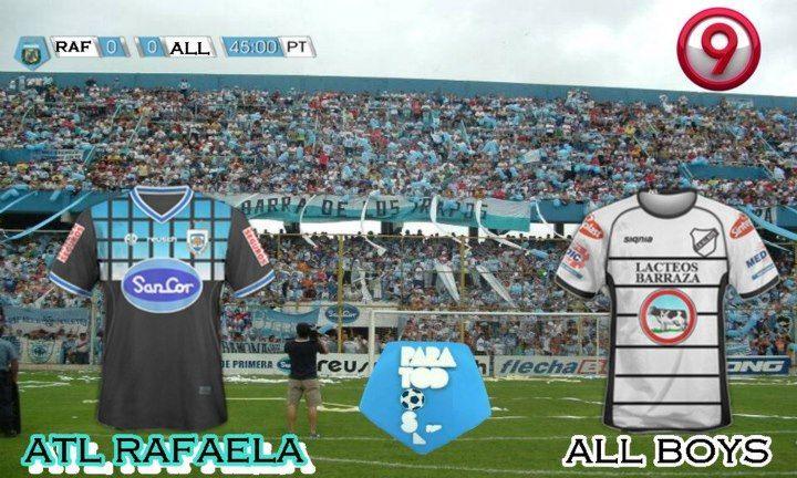 Atlético Rafaela se recuperó y se impuso ante a un complicado All Boys