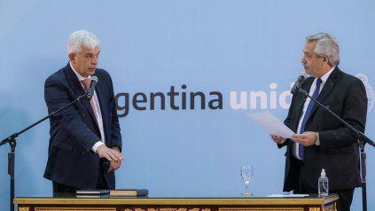 Antes de asumir, Domínguez extendió el convite a la dirigencia rural.