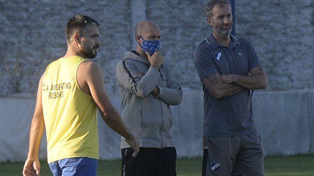 Técnico albo: Leonardo Morelli prepara el once salaíto para visitar mañana a Cambaceres a partir de las 15.30