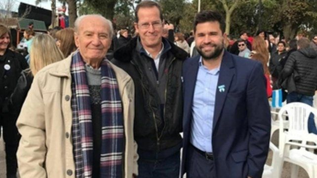 juntos. Jorge Marucco (izquierda) reemplazará al actual interventor Mario Drovetta (derecha)