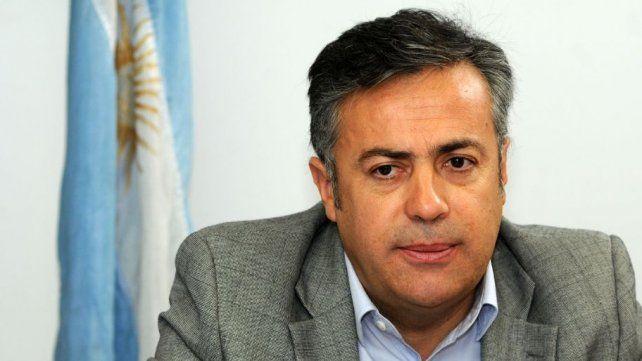 El gobernador de Mendoza y presidente de la UCR nacional