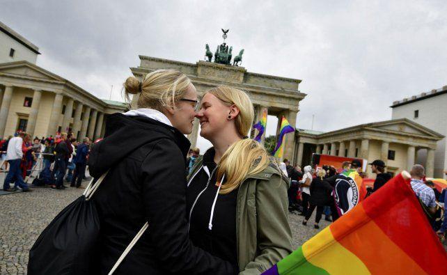 Hito histórico. Tras la votación en el Bundestag