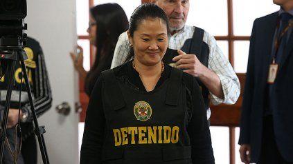 Keiko estuvo bajo prisión preventiva durante 16 meses.
