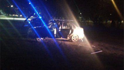 El automóvil donde fue hallado el cuerpo sin vida estaba en avenida Carrasco y Pintor Musto.