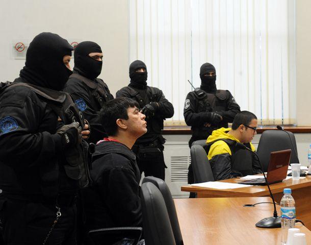 El Chino González y Guille Cantero llegaron cerca de las 8 de la mañana a Tribunales.