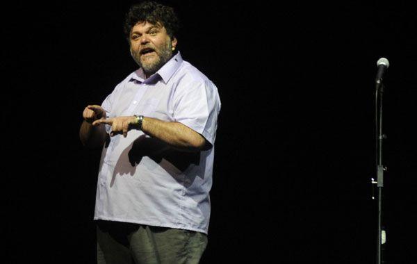 Alfredo Casero presentó su nueva propuesta artística y anunció la realización de una película que se estrenará próximamente. (Foto: Matías Sarlo)