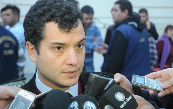 El fiscal. Florentino Malaponte acusó a Raúl Osvaldo S. por el ataque.