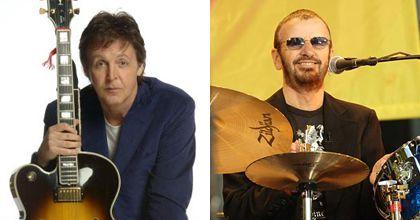 Paul McCartney y Ringo Starr tocarán en un concierto de caridad