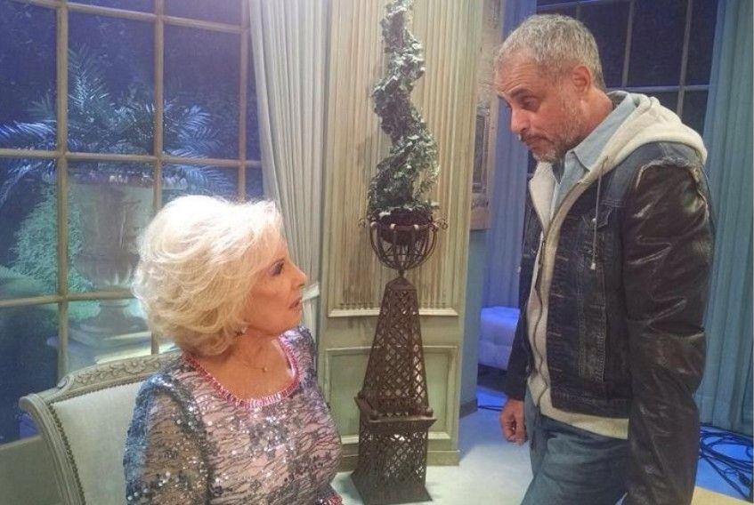 Jorge Rial visitió a Mirtha en su programa y hubo reencuentro