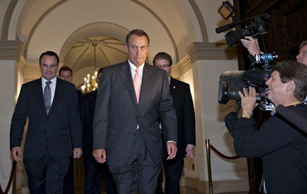 Negociación. El líder republicano en la Cámara baja