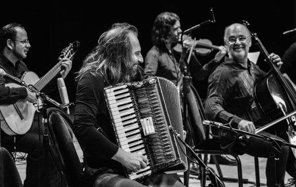 Reunión. Spasiuk y Morelenbaum tocaron juntos en la última parte del show.
