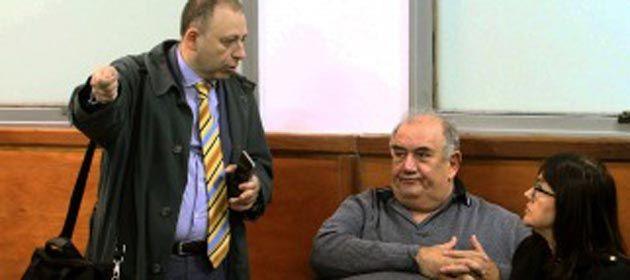 Gorosito (der.) es juzgado en Resistencia en la causa denominada Carbón Blanco). (Foto: Télam)