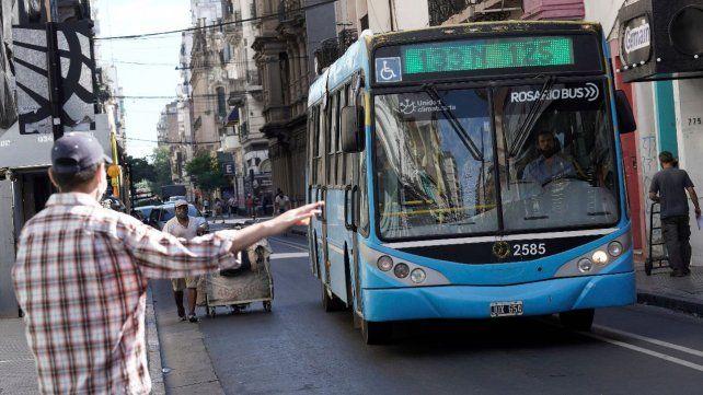 En Rosario no habrá restricciones para el uso del transporte público