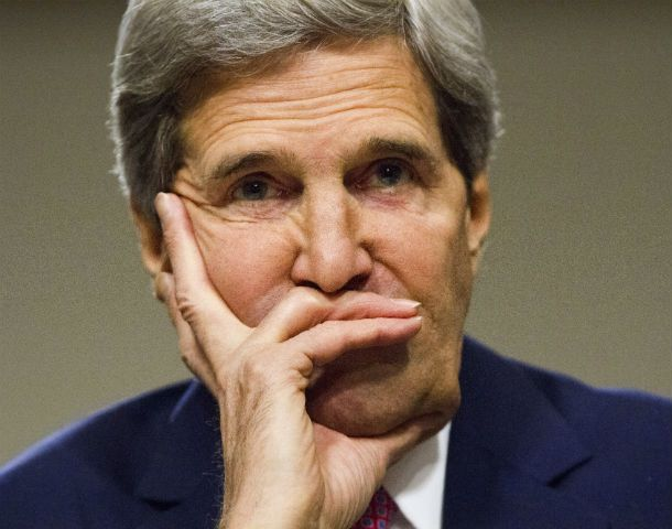 Negociador. El estadounidense John Kerry