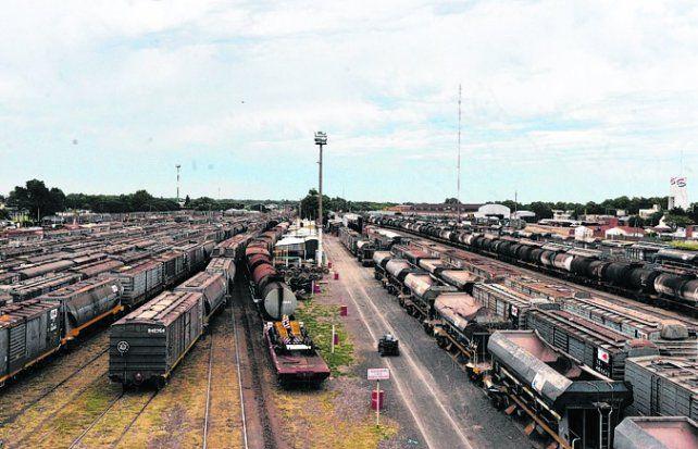 a desguace. Los trenes fueron desmantelados a fines de los 70.