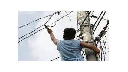 Sin teléfono por el robo de cables