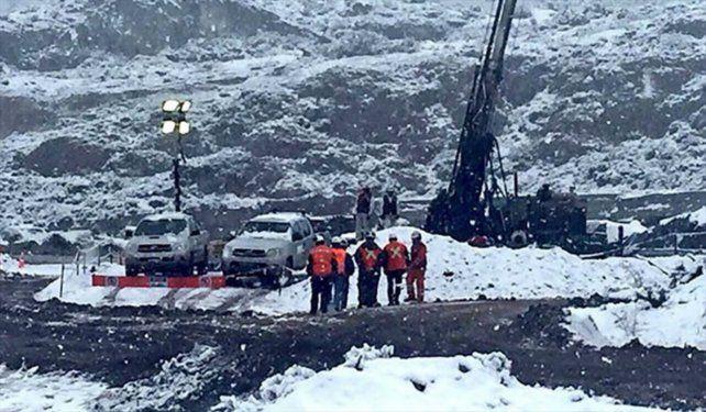 Emergencia. La mina de oro Delia II está en el remoto sur del país.