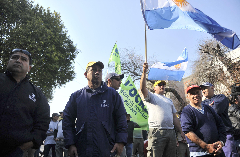 La protesta de la Uocra estará acompañada por todos los sectores de la construcción.