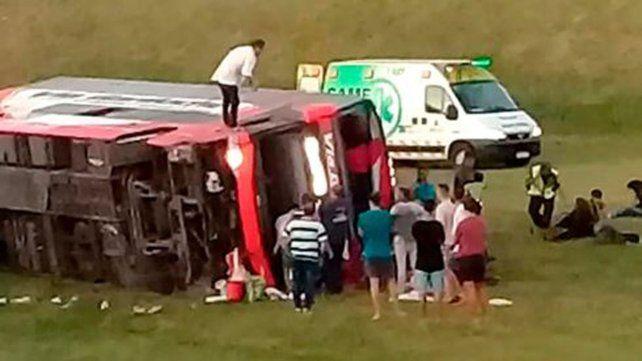 El siniestro vial ocurrio a la altura de Samborombón.