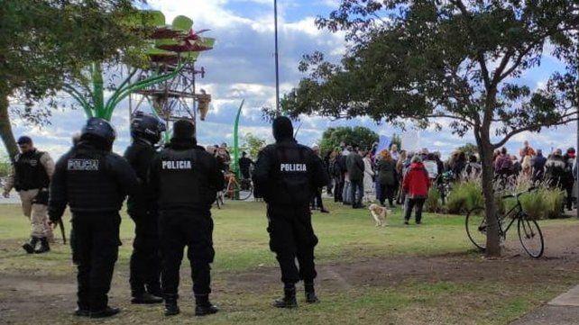ESte fin de semana se realizó una concentración en el parque De las Colectividades.