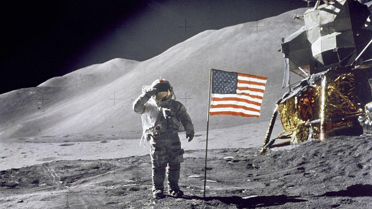 La llegada del hombre a la Luna siempre fue motivo de discusión.