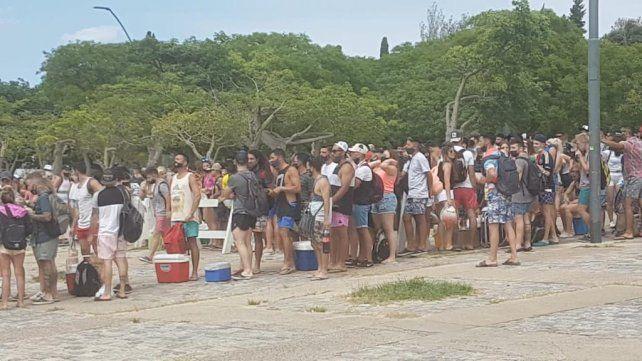 Ayer la costa rosarina se vio desborada por rosarinos que
