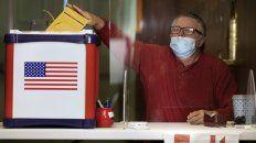 En peligro. Voto anticipado en el estado de Massachussets.