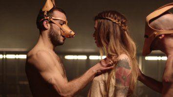 Una escena de Horny Beasts, dirigido por la realizadora de porno feminista Erika Lust.