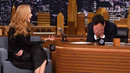 Nicole Kidman y Jimmy Fallon tuvieron una cita pero él nunca se enteró