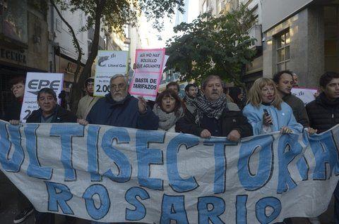 Lucha. La Multisectorial contra los tarifazos saldrá a la calle este sábado.