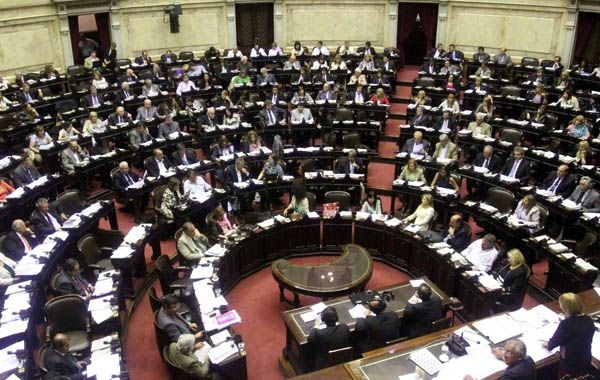 Recinto. La Cámara Baja se volverá a reunir en sesión hoy.