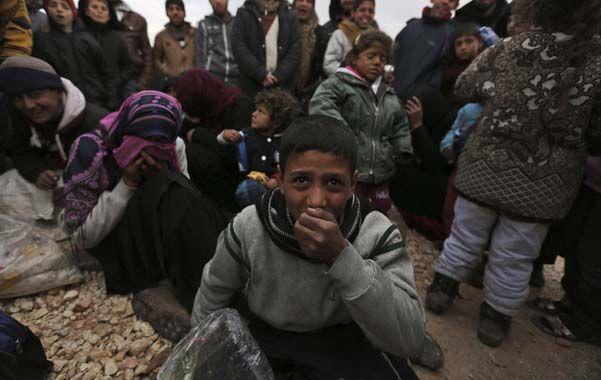 Sin escape. Chicos sirios en el puesto de frontera de Bab al-Salam
