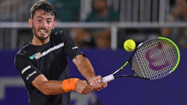 Londero le ganó a Alexey Vatutin y jugará en cuartos de final ante el uruguayo Pablo Cuevas.