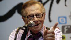 El célebre presentador estadounidense Larry King falleció a los 87 años en Los Ángeles. Tenía coronavirus.