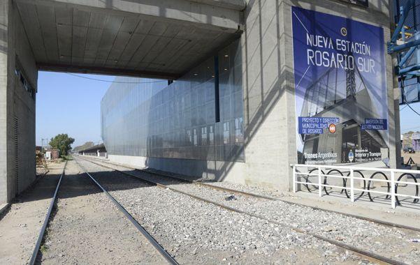 Flamante. La nueva estación de trenes Rosario Sur
