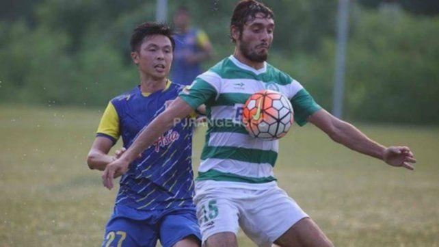 Un ex Newells en la liga de Singapur