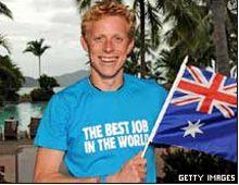 Un británico se quedó con el mejor trabajo del mundo: cuidar una isla paradisíaca