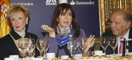 Cristina: Nunca las relaciones entre Argentina y España fueron tan profundas