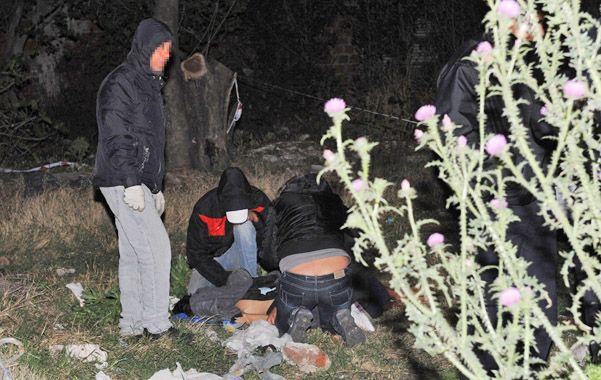 Golpeado. El cuerpo de Cristian C. fue hallado en un baldío en inmediaciones de Levalle al 1800