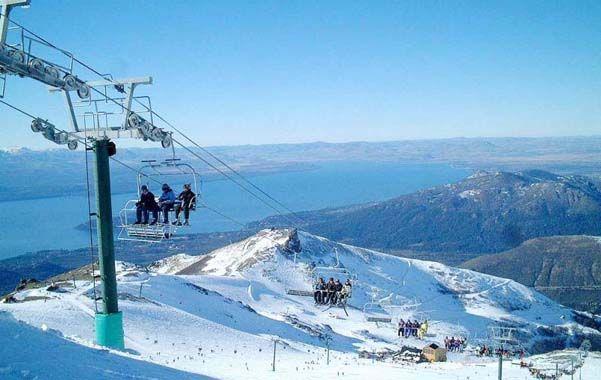 Preferida. Bariloche sigue teniendo la mayor cantidad de turistas en invierno.